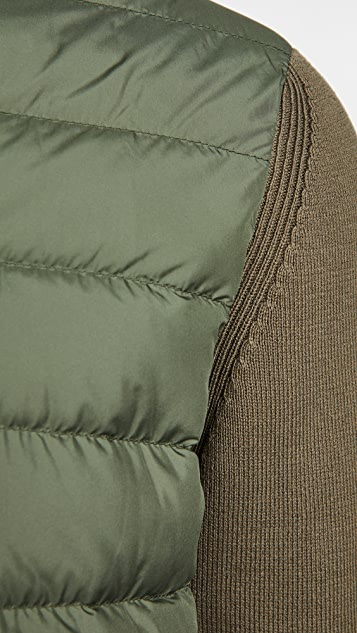 Woolrich Knit Full-Zip Track Jacket