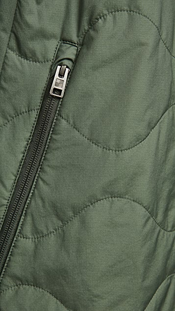 Woolrich Ripstop Hooded Jacket