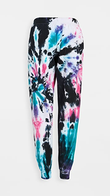 Worthy Threads Space Tie Dye Joggers