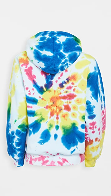 Worthy Threads Multi Tie Dye Hoodie