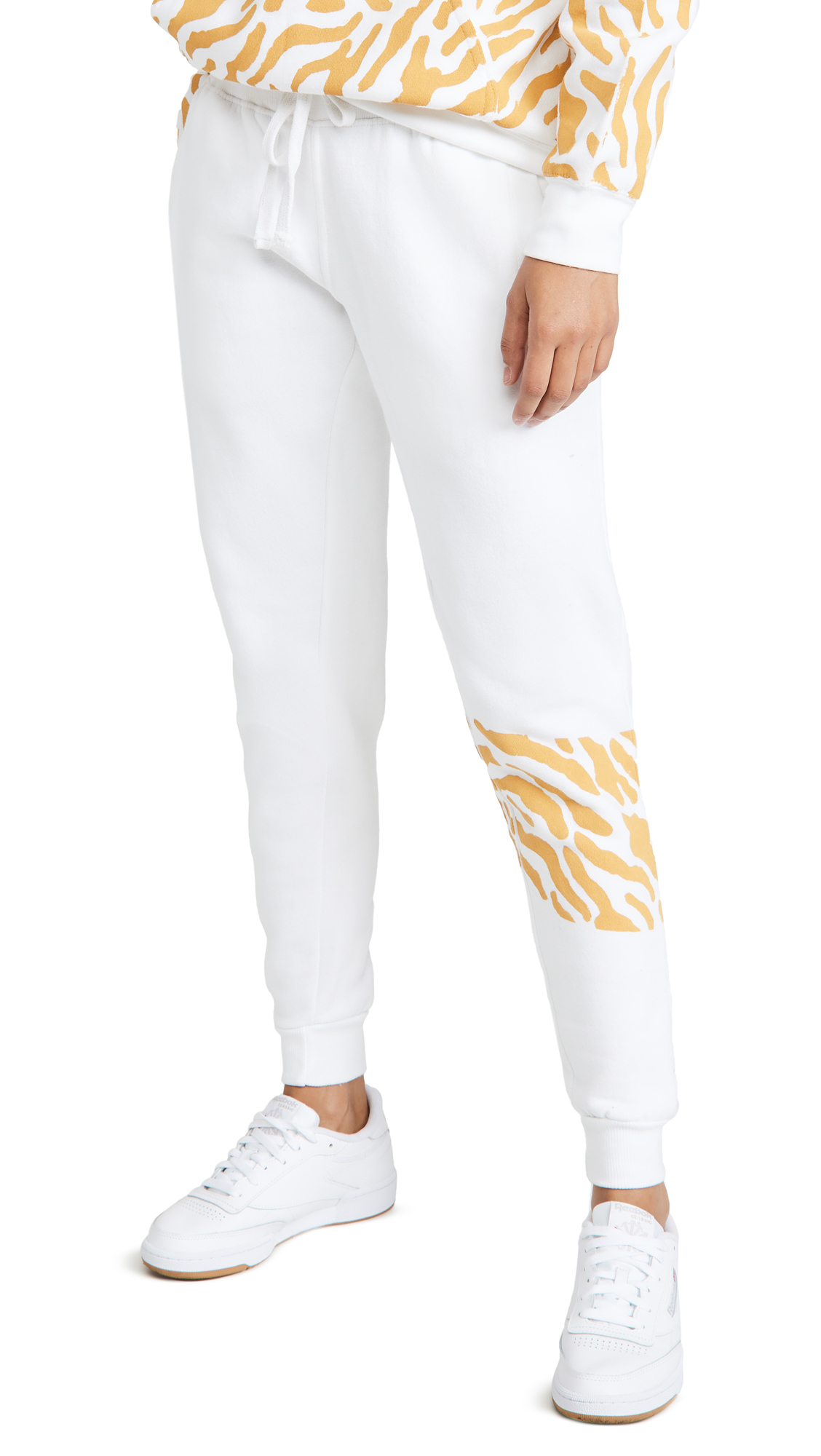Worthy Threads Tiger Print Joggers