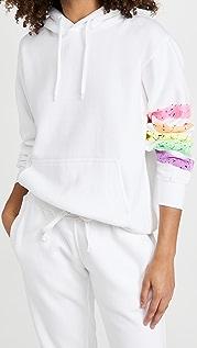 Worthy Threads Neon Stripe Hoodie