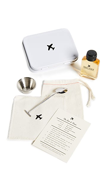 W&P The Gin & Tonic Carry On Cocktail Kit