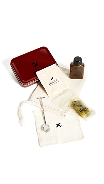 W&P Design The Bloody Mary Carry On Cocktail Kit