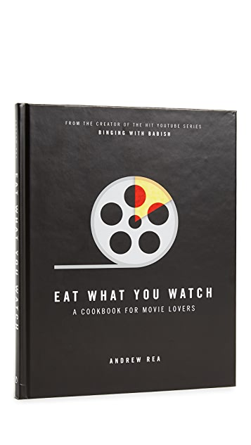 W&P Design Eat What You Watch Book