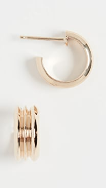 Wwake Wide Ripple Hoops