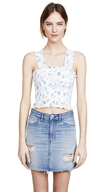 Winston White Jewel Top