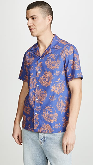 Wood Wood Short Sleeve Brandon Shirt
