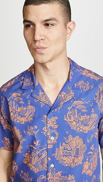 Wood Wood Short Sleeve Brandon Shirt