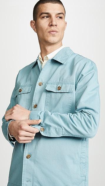 Wood Wood Long Sleeve Fabian Shirt