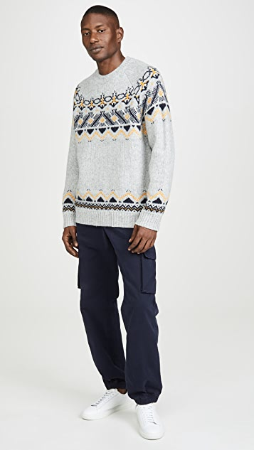 Wood Wood Gunther Fair Isle Sweater