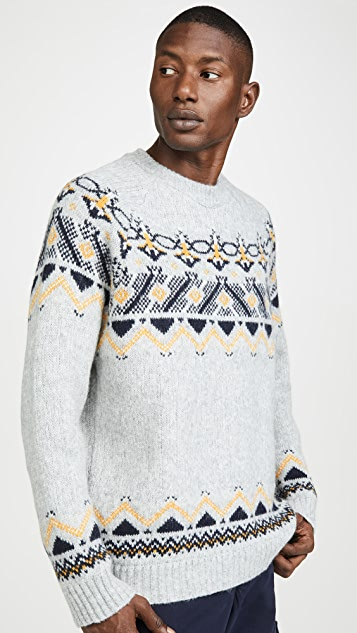 Wood Wood Gunther Fair Isle Sweater