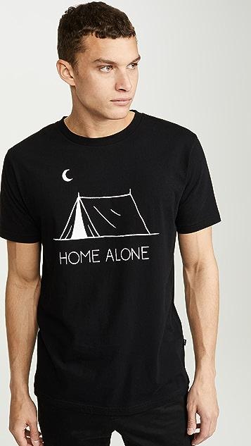 Wood Wood Home Alone Graphic Tee Shirt