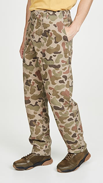 Wood Wood Halvard Camo Trousers