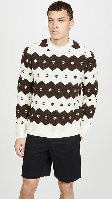 Wood Wood Kevin Fair Isle Sweater