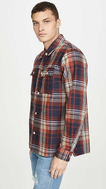 Wood Wood Franco Plaid Overshirt