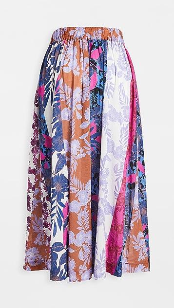 XIRENA Teagan Printed Skirt