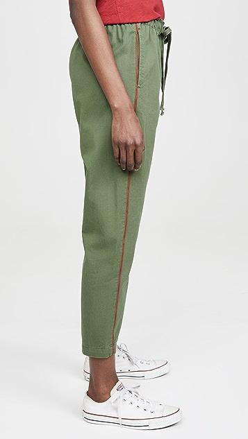 XIRENA Rex 斜纹织物长裤