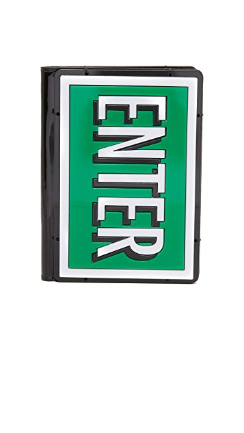 Yazbukey ENTER & EXIT Passport Holder