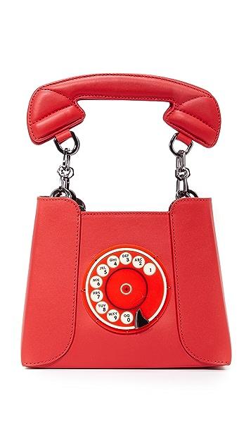 Yazbukey Сумка с изображением телефона
