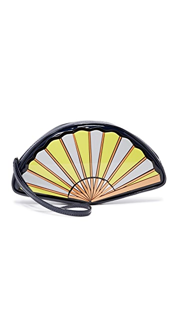 Yazbukey Fan Wristlet
