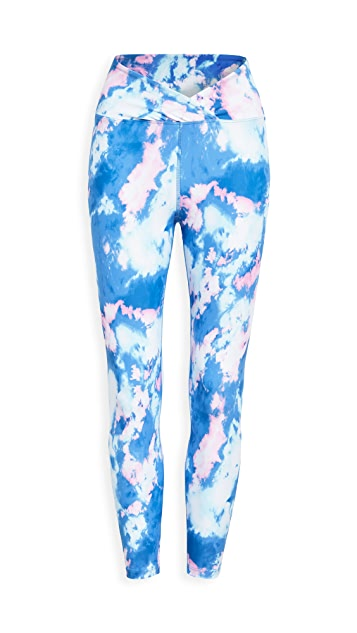 Year of Ours Sky Dye Veronica Leggings