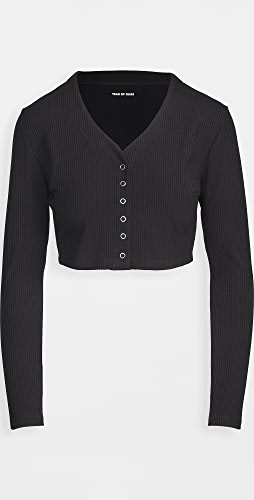 Year of Ours - Ribbed Cropped Cardi
