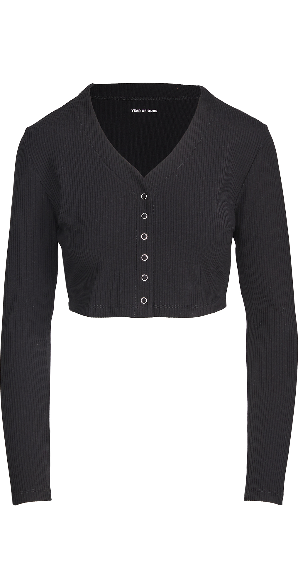 Year of Ours Ribbed Cropped Cardi