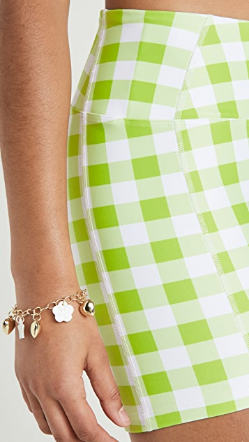 Year of Ours Gingham Short Shorts
