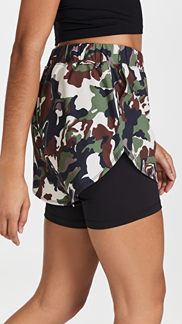 Year of Ours Camo Terrian Shorts