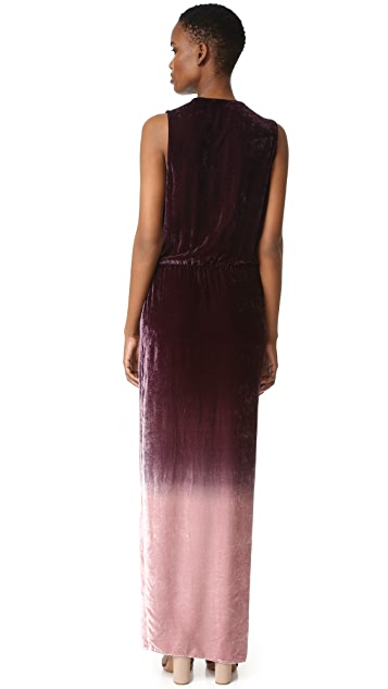 Young Fabulous & Broke Juliete Velvet Dress