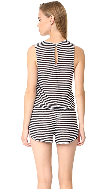 Young Fabulous & Broke YFB Clothing Aimee Romper