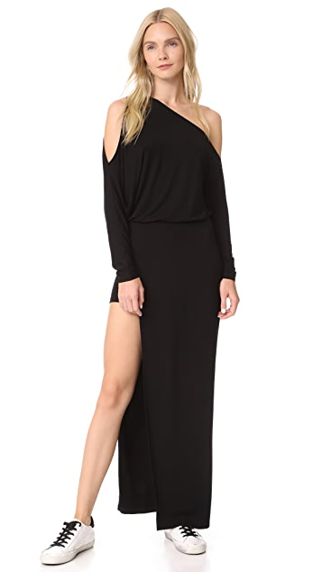Young Fabulous & Broke Jannice One Shoulder Maxi Dress