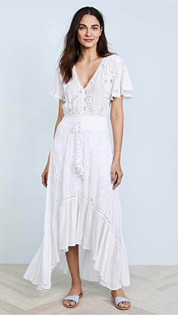 Young Fabulous & Broke Costa Maxi Dress - White