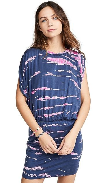 Young Fabulous & Broke Платье Nessa в технике узелкового батика