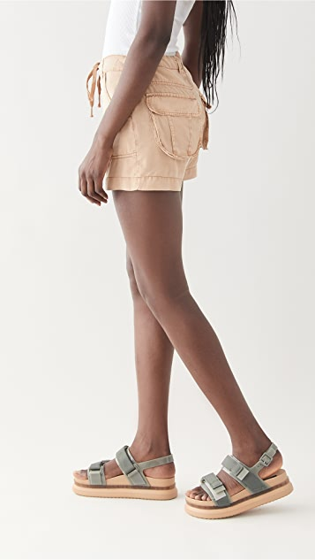Young Fabulous & Broke Milo 短裤