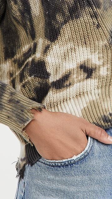 Young Fabulous & Broke Clark 短版系扣衫