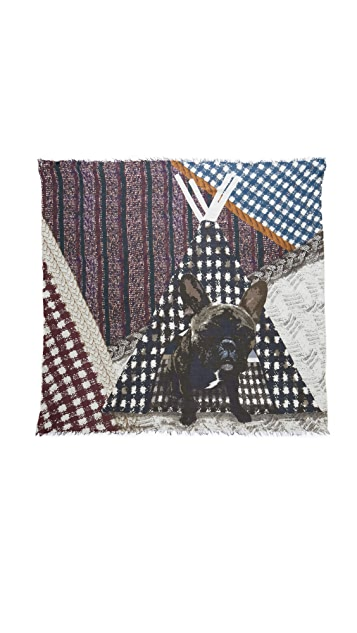 Yigal Azrouel Jagger's Teepee Scarf