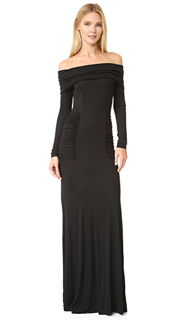 Yigal Azrouel Off Shoulder Gown