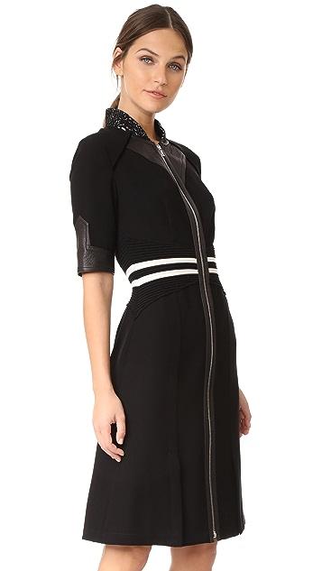 Yigal Azrouel Zip Front Dress