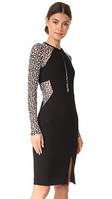 Yigal Azrouel Long Sleeve Dress