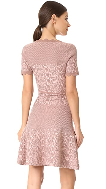 Yigal Azrouel V Neck Dress