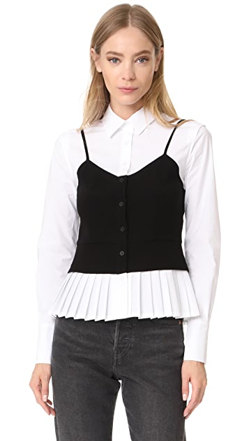 Yigal Azrouel Layered Blouse