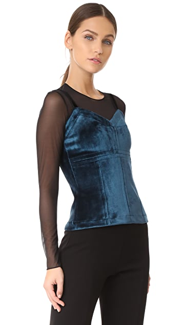 Yigal Azrouel Cami Top