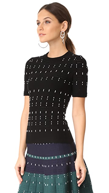 Yigal Azrouel Short Sleeve Top