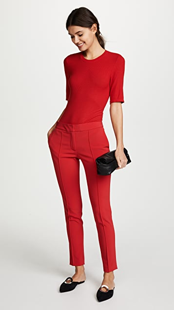 Yigal Azrouel Red Pants