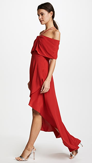 Yigal Azrouel Cold Shoulder Dress