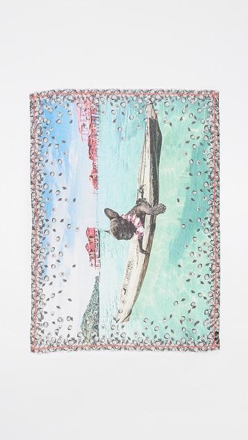 Yigal Azrouel Jaggie Kayaking Scarf
