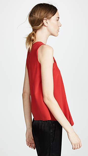 Yigal Azrouel Drapery Tank Top