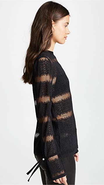 Yigal Azrouel Stripe Sweater